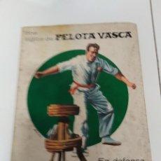 Coleccionismo deportivo: DOS SIGLOS DE PELOTA VASCA 1971 / 278 PAGINAS CON FOTOS . Lote 160040874