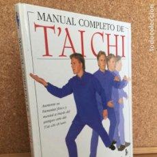 Colecionismo desportivo: MANUAL COMPLETO DE TAI CHI - STEWART MCFARLANE - EDICIONES B - FORMATO GRANDE - GCH. Lote 160341550