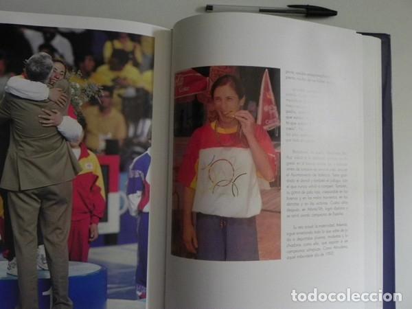 Coleccionismo deportivo: ESPAÑOLES DE ORO ( CIEN AÑOS DE MEDALLAS OLÍMPICAS )- LIBRO HISTORIA DEPORTE JUEGOS OLÍMPICOS ESPAÑA - Foto 9 - 160559946