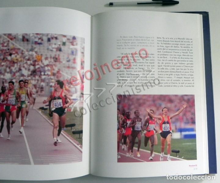 Coleccionismo deportivo: ESPAÑOLES DE ORO ( CIEN AÑOS DE MEDALLAS OLÍMPICAS )- LIBRO HISTORIA DEPORTE JUEGOS OLÍMPICOS ESPAÑA - Foto 5 - 160559946
