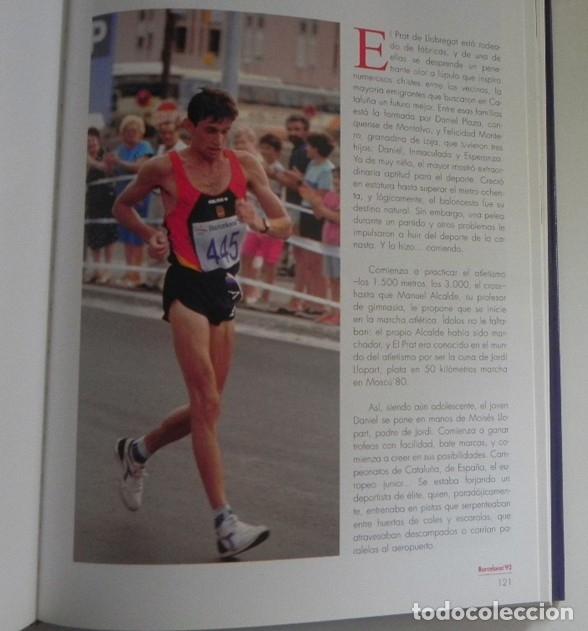 Coleccionismo deportivo: ESPAÑOLES DE ORO ( CIEN AÑOS DE MEDALLAS OLÍMPICAS )- LIBRO HISTORIA DEPORTE JUEGOS OLÍMPICOS ESPAÑA - Foto 6 - 160559946