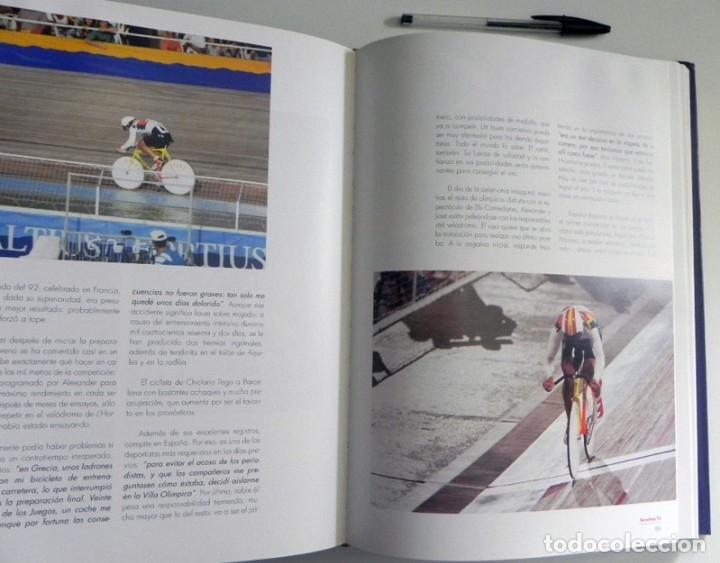 Coleccionismo deportivo: ESPAÑOLES DE ORO ( CIEN AÑOS DE MEDALLAS OLÍMPICAS )- LIBRO HISTORIA DEPORTE JUEGOS OLÍMPICOS ESPAÑA - Foto 10 - 160559946