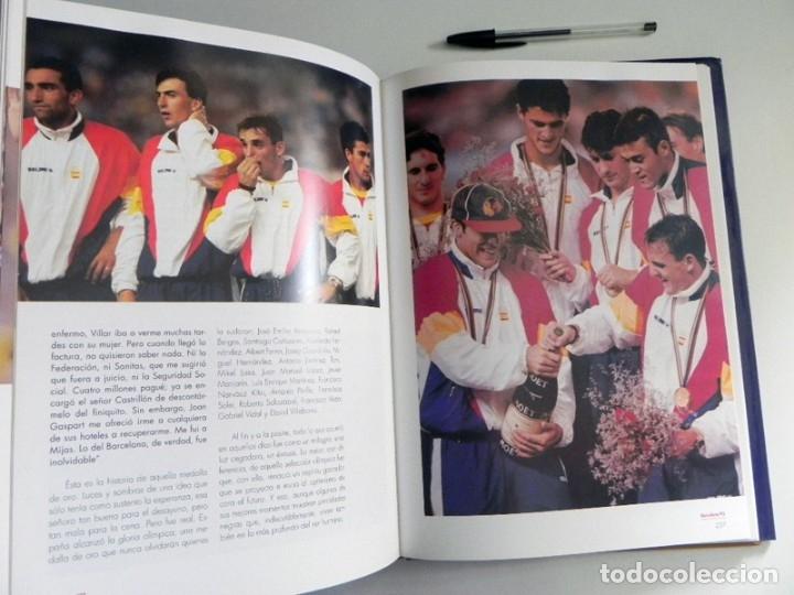 Coleccionismo deportivo: ESPAÑOLES DE ORO ( CIEN AÑOS DE MEDALLAS OLÍMPICAS )- LIBRO HISTORIA DEPORTE JUEGOS OLÍMPICOS ESPAÑA - Foto 12 - 160559946