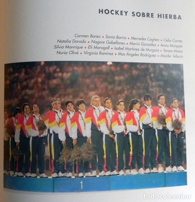 Coleccionismo deportivo: ESPAÑOLES DE ORO ( CIEN AÑOS DE MEDALLAS OLÍMPICAS )- LIBRO HISTORIA DEPORTE JUEGOS OLÍMPICOS ESPAÑA - Foto 8 - 160559946