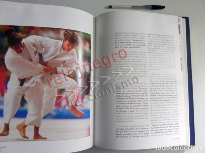 Coleccionismo deportivo: ESPAÑOLES DE ORO ( CIEN AÑOS DE MEDALLAS OLÍMPICAS )- LIBRO HISTORIA DEPORTE JUEGOS OLÍMPICOS ESPAÑA - Foto 4 - 160559946