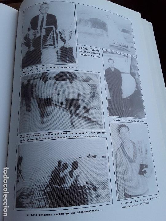 Coleccionismo deportivo: Semblanza histórica de los botes de la vela latina. Canarias, 1990. Muchas fotos. Único en tc. - Foto 5 - 161582082