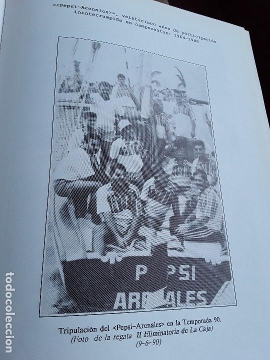 Coleccionismo deportivo: Semblanza histórica de los botes de la vela latina. Canarias, 1990. Muchas fotos. Único en tc. - Foto 6 - 161582082