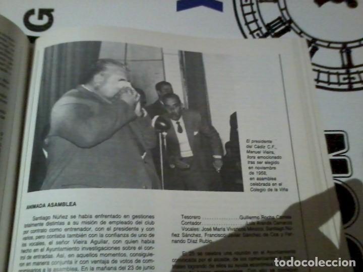 Coleccionismo deportivo: 75 Años del Cádiz C.F. 1910-1985 - Foto 4 - 164955934