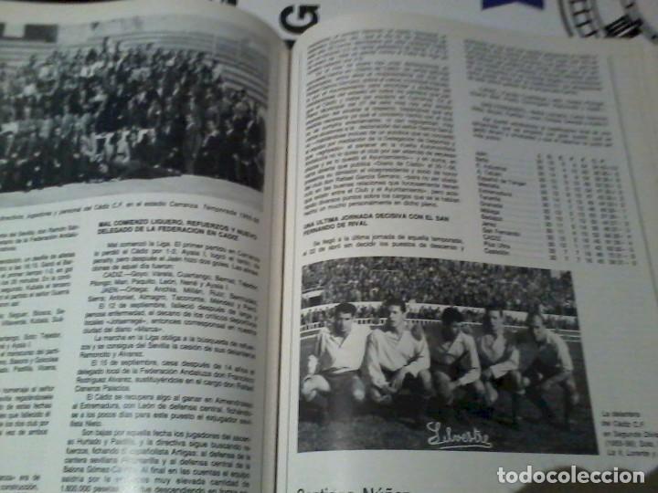 Coleccionismo deportivo: 75 Años del Cádiz C.F. 1910-1985 - Foto 5 - 164955934