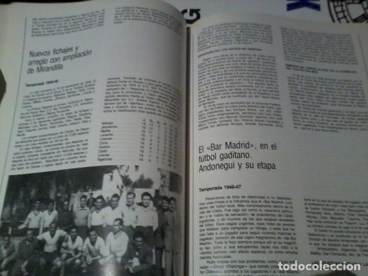 Coleccionismo deportivo: 75 Años del Cádiz C.F. 1910-1985 - Foto 6 - 164955934