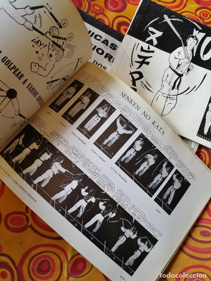 Coleccionismo deportivo: NUNCHAKU EN 3 TOMOS DAIMYO (DEFENSA Y ATAQUE- TÉCNICAS SUPERIORES Nº1 Y 2), 1979-81. - Foto 7 - 165537290