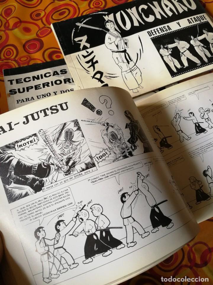 Coleccionismo deportivo: NUNCHAKU EN 3 TOMOS DAIMYO (DEFENSA Y ATAQUE- TÉCNICAS SUPERIORES Nº1 Y 2), 1979-81. - Foto 9 - 165537290