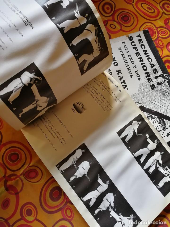 Coleccionismo deportivo: NUNCHAKU EN 3 TOMOS DAIMYO (DEFENSA Y ATAQUE- TÉCNICAS SUPERIORES Nº1 Y 2), 1979-81. - Foto 10 - 165537290