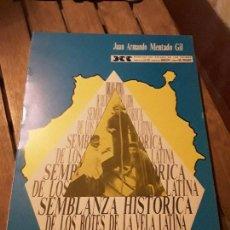 Coleccionismo deportivo: SEMBLANZA HISTÓRICA DE LOS BOTES DE LA VELA LATINA. CANARIAS, 1990. MUCHAS FOTOS. EXCELENTE ESTADO.. Lote 165683054