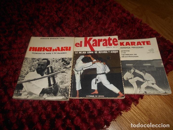 NUNCHAKU TÉCNICAS DE BASE Y DE DEFENSA EDITORIAL FHER 1977 EL KARATE C. MUÑOZ DEFENSA PERSONAL (Coleccionismo Deportivo - Libros de Deportes - Otros)