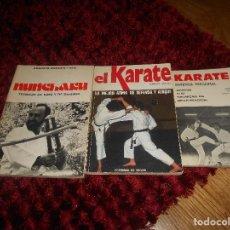 Coleccionismo deportivo: NUNCHAKU TÉCNICAS DE BASE Y DE DEFENSA EDITORIAL FHER 1977 EL KARATE C. MUÑOZ DEFENSA PERSONAL. Lote 165948070