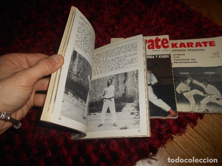 Coleccionismo deportivo: NUNCHAKU TÉCNICAS DE BASE Y DE DEFENSA EDITORIAL FHER 1977 EL KARATE C. MUÑOZ DEFENSA PERSONAL - Foto 2 - 165948070