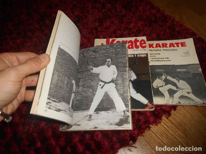 Coleccionismo deportivo: NUNCHAKU TÉCNICAS DE BASE Y DE DEFENSA EDITORIAL FHER 1977 EL KARATE C. MUÑOZ DEFENSA PERSONAL - Foto 3 - 165948070