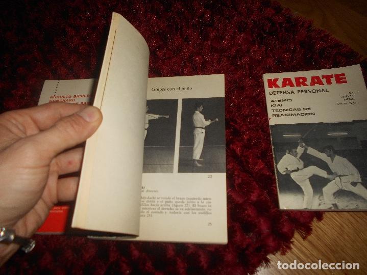 Coleccionismo deportivo: NUNCHAKU TÉCNICAS DE BASE Y DE DEFENSA EDITORIAL FHER 1977 EL KARATE C. MUÑOZ DEFENSA PERSONAL - Foto 5 - 165948070