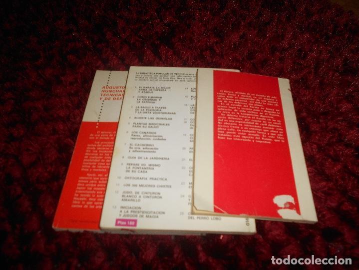 Coleccionismo deportivo: NUNCHAKU TÉCNICAS DE BASE Y DE DEFENSA EDITORIAL FHER 1977 EL KARATE C. MUÑOZ DEFENSA PERSONAL - Foto 8 - 165948070