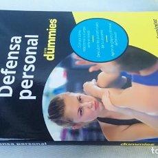 Collezionismo sportivo: DEFENSA PERSONAL PARA DUMMIES/ OSCAR FERNANDEZ/ / / E303. Lote 166204022