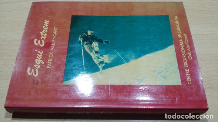 ESQUI EXTREM/ PATRICK VALLENÇANT/ CENTRE EXCURSIONISTA CATALUNYA- EN CATALAN/ ESCULTISMO MO (Coleccionismo Deportivo - Libros de Deportes - Otros)