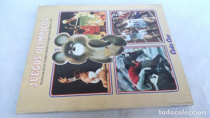 JUEGOS OLIMPICOS HISTORIA/ DE OLIMPIA A MOSCU 80/ COLA CAO/ / E204 (Coleccionismo Deportivo - Libros de Deportes - Otros)