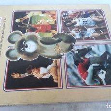 Coleccionismo deportivo: JUEGOS OLIMPICOS HISTORIA/ DE OLIMPIA A MOSCU 80/ COLA CAO/ / E204. Lote 166232290