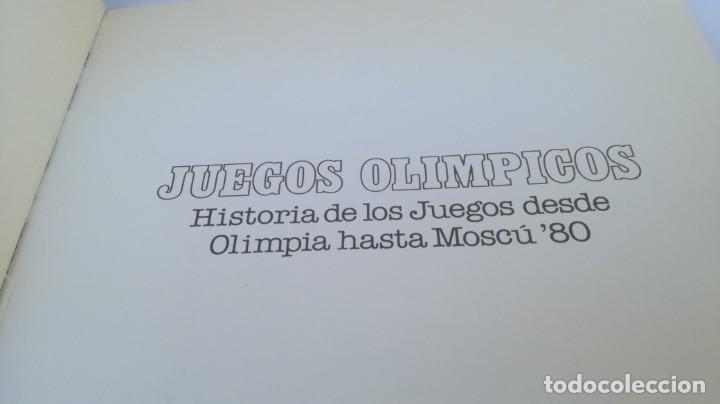 Coleccionismo deportivo: JUEGOS OLIMPICOS HISTORIA/ DE OLIMPIA A MOSCU 80/ COLA CAO/ / E204 - Foto 4 - 166232290
