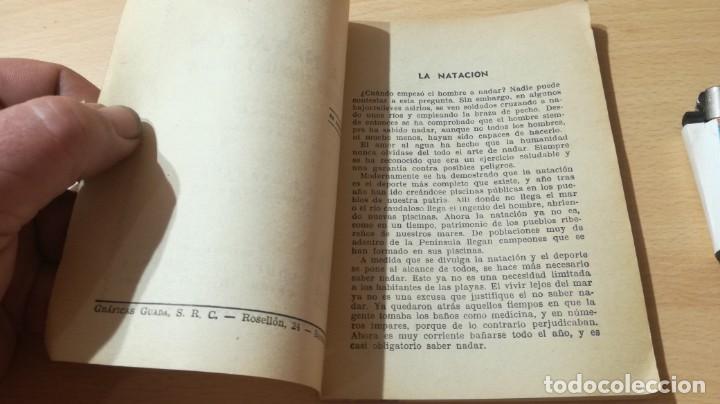 Coleccionismo deportivo: LA NATACION METODO SENCILLO Y PRACTICO/ MANUALES CISNE/ J E GRANADA/ / H303 - Foto 3 - 166484062