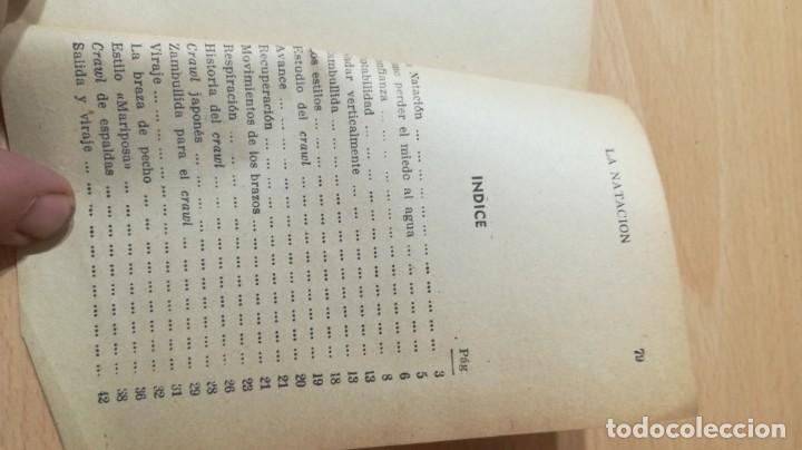 Coleccionismo deportivo: LA NATACION METODO SENCILLO Y PRACTICO/ MANUALES CISNE/ J E GRANADA/ / H303 - Foto 4 - 166484062