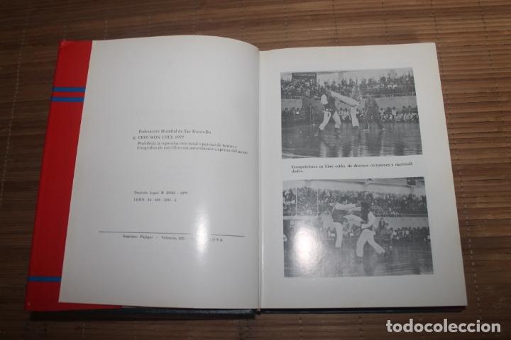 Coleccionismo deportivo: TAE KWOND-DO, NUEVOS PUMSE, LIBRO OFICIAL DE LA FEDERACION MUNDIAL DE TAE KWOND-DO. 1977 - Foto 2 - 166798270