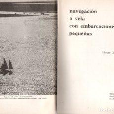 Coleccionismo deportivo: H. GARRETT SMITH : NAVEGACIÓN A VELA EN EMBARCACIONES PEQUEÑAS (SINTES, 1966). Lote 166912892