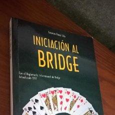 Coleccionismo deportivo: INICIACION AL BRIDGE. LORENZO PONCE SALA. HISPANO EUROPEA 2000. JUEGOS DE MESA.. Lote 167302572