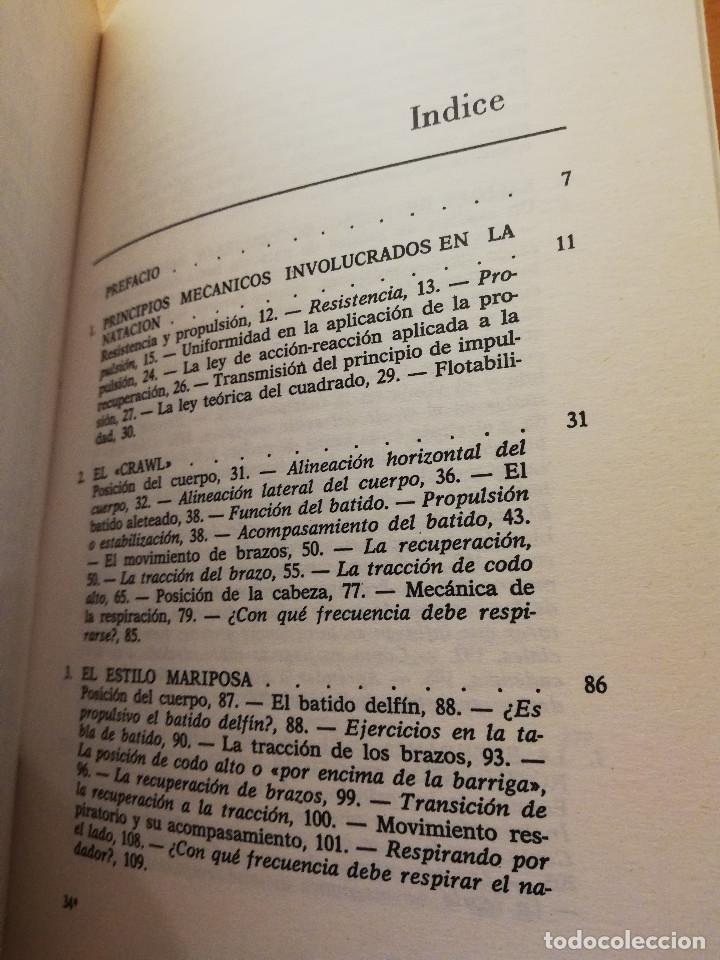 Coleccionismo deportivo: LA NATACIÓN: CIENCIA Y TÉCNICA (JAMES A. COUNSILMAN) EDITORIAL HISPANO EUROPEA - Foto 3 - 169026580