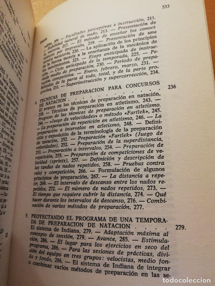 Coleccionismo deportivo: LA NATACIÓN: CIENCIA Y TÉCNICA (JAMES A. COUNSILMAN) EDITORIAL HISPANO EUROPEA - Foto 5 - 169026580