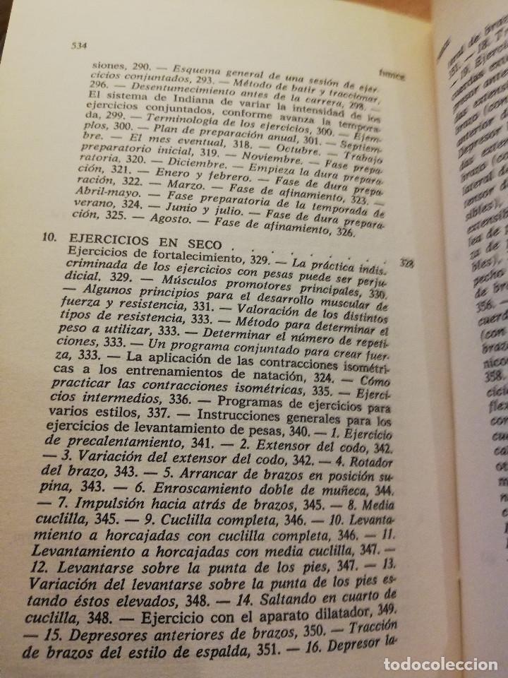 Coleccionismo deportivo: LA NATACIÓN: CIENCIA Y TÉCNICA (JAMES A. COUNSILMAN) EDITORIAL HISPANO EUROPEA - Foto 6 - 169026580