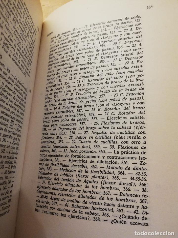Coleccionismo deportivo: LA NATACIÓN: CIENCIA Y TÉCNICA (JAMES A. COUNSILMAN) EDITORIAL HISPANO EUROPEA - Foto 7 - 169026580