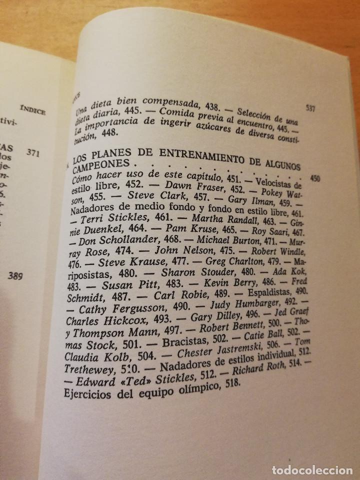 Coleccionismo deportivo: LA NATACIÓN: CIENCIA Y TÉCNICA (JAMES A. COUNSILMAN) EDITORIAL HISPANO EUROPEA - Foto 9 - 169026580