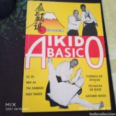 Coleccionismo deportivo: AIKIDO BASICO. Lote 169399052