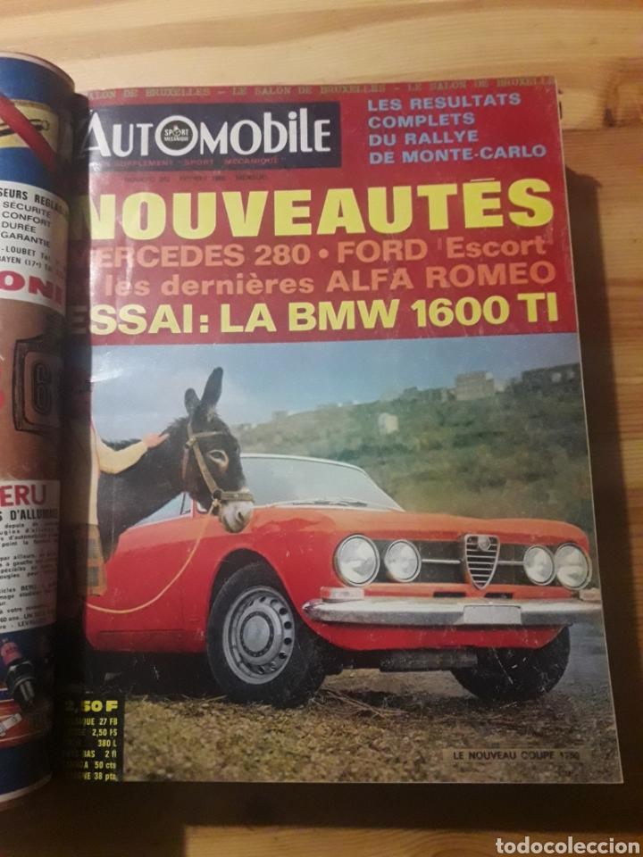 Coleccionismo deportivo: Lautomobile gran tomo revistas automocion coches - Foto 2 - 169471854
