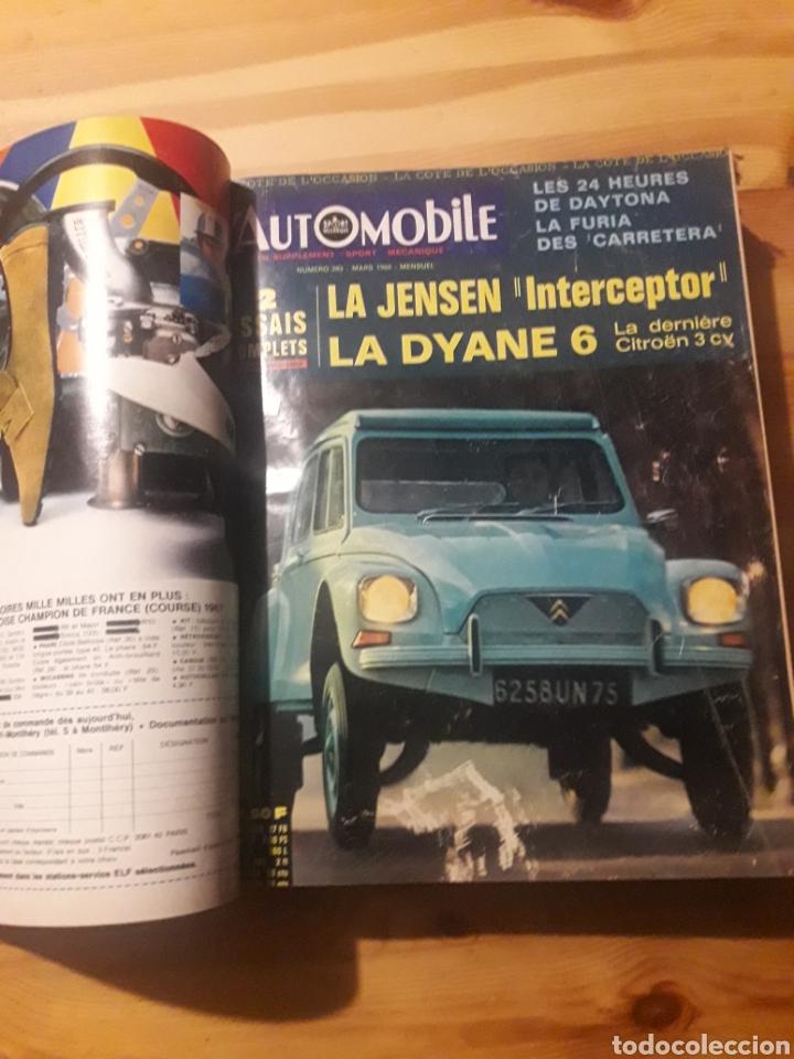 Coleccionismo deportivo: Lautomobile gran tomo revistas automocion coches - Foto 3 - 169471854