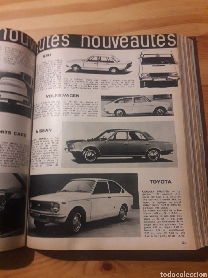 Coleccionismo deportivo: Lautomobile gran tomo revistas automocion coches - Foto 7 - 169471854