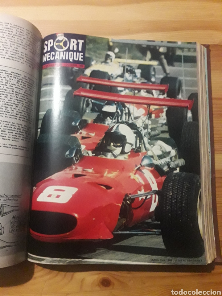 Coleccionismo deportivo: Lautomobile gran tomo revistas automocion coches - Foto 8 - 169471854