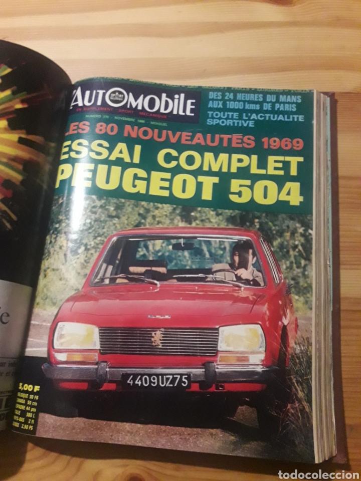 Coleccionismo deportivo: Lautomobile gran tomo revistas automocion coches - Foto 9 - 169471854