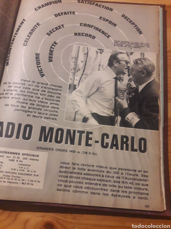 Coleccionismo deportivo: Lautomobile gran tomo revistas automocion coches - Foto 11 - 169471854