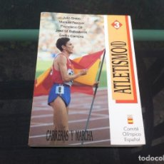 Coleccionismo deportivo: ATLETISMO (I) CARRERAS Y MARCHA. JULIO BRAVO-MANUEL PASCUA-FRANCISCO GIL, ETC. 1990. Lote 169674036