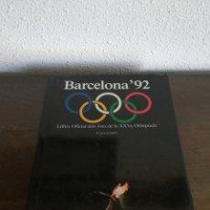 Coleccionismo deportivo: BARCELONA '92 LLIBRE OFICIAL JOCS XXVA OLIMPÍADA. Lote 171032065