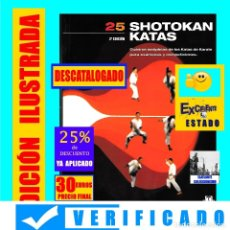 Coleccionismo deportivo: 25 SHOTOKAN KATAS - ALBRECHT PFLÜGER - CUADROS SINÓPTICOS KATAS DE KARATE EXAMENES Y COMPETICIONES. Lote 167813806