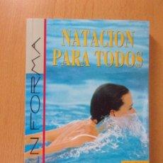 Coleccionismo deportivo: NATACIÓN PARA TODOS / JANE KATZ / 1999.TUTOR. Lote 172156432